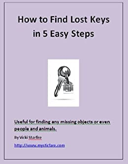 how to find lost keys in 5 easy steps how to make inanimate objects animate english edition. Black Bedroom Furniture Sets. Home Design Ideas