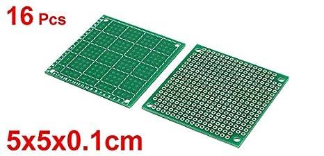 3 Pcs Single Sided SMD Prototype Solderable Universal PCB Board 11x7cm