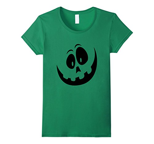 Womens DIY Jack-o-Lantern Costume for Halloween Tee XL Kelly Green