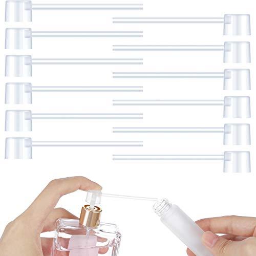 Perfume Dispenser Pump Perfume Refill Pump Cosmetic Dispenser Pump Transfer Tool for Travel Refillable Perfume Atomizer Spray Bottle (12 Packs) ()