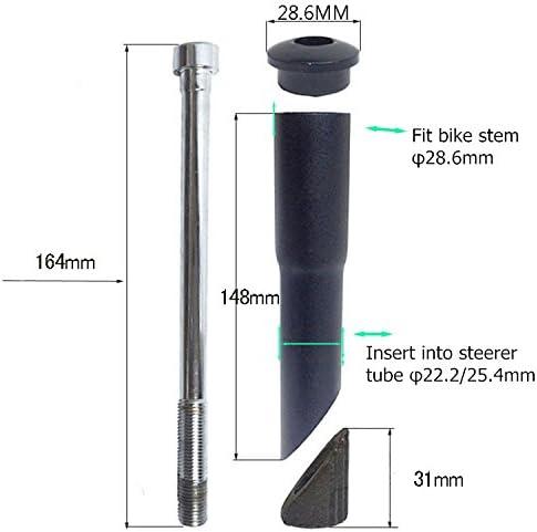UPANBIKE Road Mountain Bike Bicycle Stem Riser Adapter 1 1//8 /φ22.2mm 25.4mm*150mm