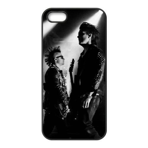 Avenged Sevenfold coque iPhone 4 4S Housse téléphone Noir de couverture de cas coque EBDOBCKCO12495