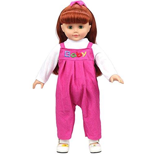 Iteco Vêtements de poupée pour 18 pouces American Girl