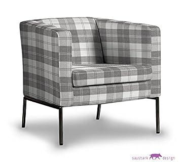 Saustark Design saustark design dundee cover for ikea klappsta armchair chequered