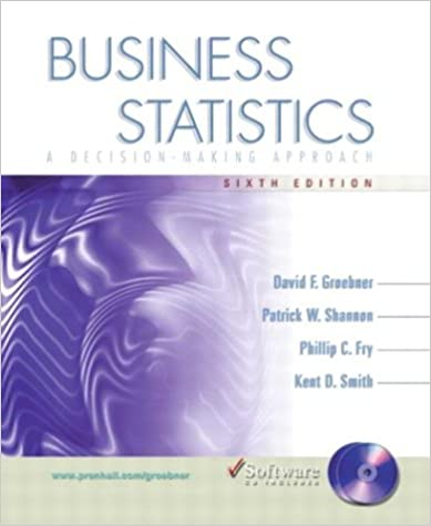 Business statistics a decision making approach with student cd business statistics a decision making approach with student cd 6th edition 6th edition fandeluxe Image collections