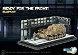 : Elefant 332 Ready for the Front Diorama 1-72 Dragon Armor