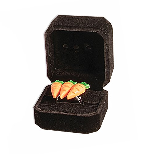 Genuine '3 Karat' Engagement Ring Prank Novelty Item