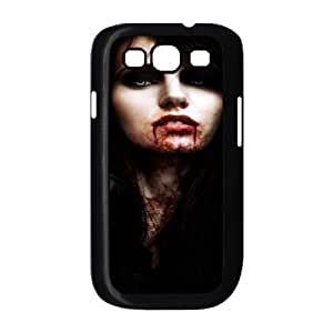 Vampire Series,Samsung Galaxy S3 Case,Vampire Beauty Phone Case For Samsung Galaxy S3[Black]