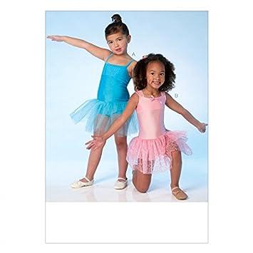 Kwik Sew Mädchen Einfach Schnittmuster 4108 Balletttrikot mit ...