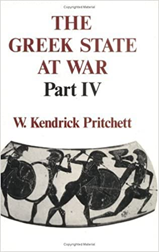 Book The Greek State at War: Pt. 4: v. 4