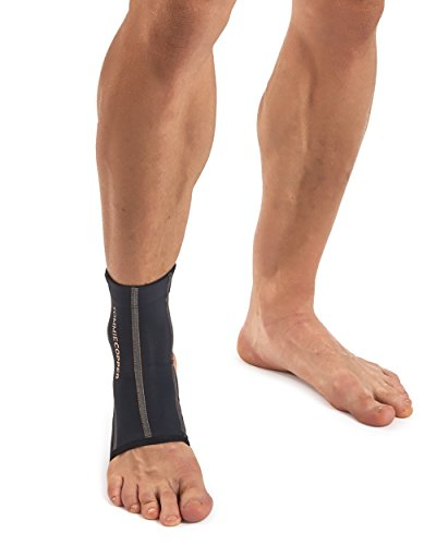 Tommie Copper Men's Performance Ankle Sleeves 2.0, Medium, Black by Tommie Copper (Image #3)