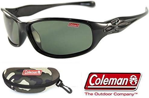 Coleman コールマン 偏光サングラス Co3033-3(コールマン専用ハードケース+ステッカー付) (迷彩)