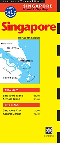 Singapore Travel Map Twelfth Edition