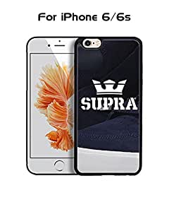 Supra Iphone 6 Funda Case, Brand Logo Customized Solid Plastic Durable Rugged Anti Dust Fit for Iphone 6 / 6s (4.7 inch)