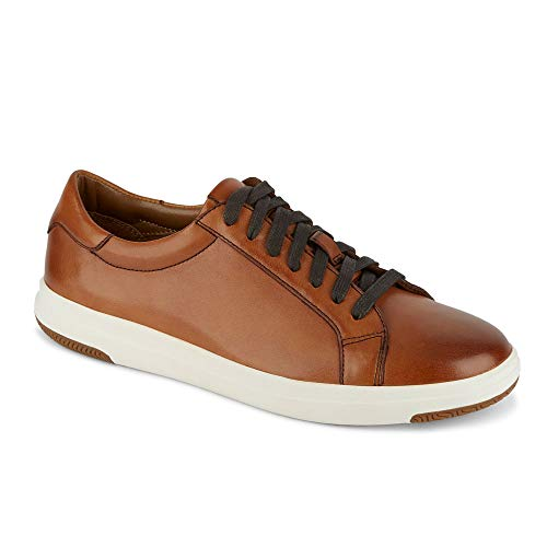 Dockers Mens Gilmore Leather Casual Fashion Sneaker Shoe, Tan, 10.5 M