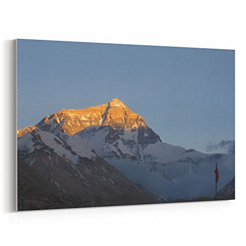 Westlake Art - Mountain Range - 12x18 Canvas Print Wall Art - Canvas Stretched Gallery Wrap Modern Picture Photography Artwork - Ready to Hang 12x18 Inch (75E1-442E4)