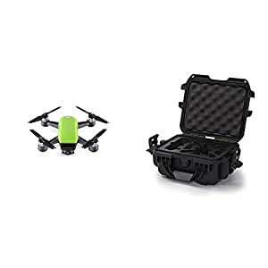 DJI Spark Meadow Green Fly More Combo w/ Black Nanuk Case