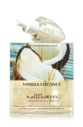 トレーニング野ウサギカポック【Bath&Body Works/バス&ボディワークス】 ルームフレグランス 詰替えリフィル(2個入り) バニラココナッツ Wallflowers Home Fragrance 2-Pack Refills Vanilla Coconut [並行輸入品]