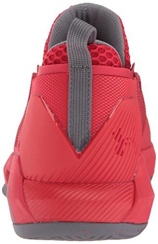 Pierce UA da Uomo Drive Gray 4 Armour Basket Low Pierce Zinc Scarpe Under qxYwRF5v