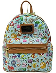 Loungefly x Pokemon All Time Fave AOP Mini Backpack