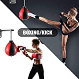 Hicient Speed Bag for Boxing Wall Mount Speed Ball