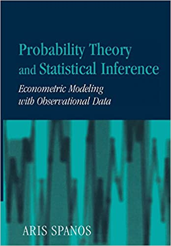 Probability theory and statistical inference econometric modeling probability theory and statistical inference econometric modeling with observational data 9780521424080 economics books amazon fandeluxe Gallery