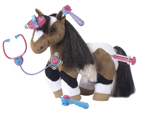 Breyer Chloe Care For Me Vet Set Interactive Horse Play Set (Plush Pony Whinny)