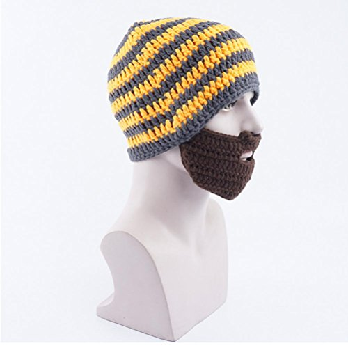 De Sombreros Sombreros Hombres Punto Gorros Barba De Sombreros dark Unisex De Otoño Romanos Invierno yellow Sombreros De De ztY8n6qq