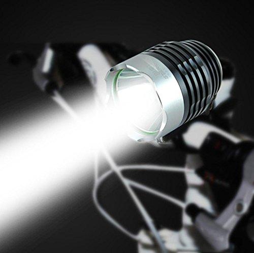 2000 Lumens Q5 Bicycle Light LED Bike Front Waterproof Lamp+ Holder - 1
