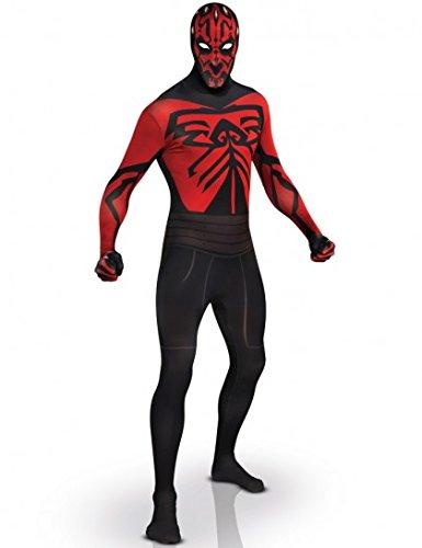 [Star Wars 2nd Skin Full Body Suit Costume - Medium - Chest Size 42] (Easy Male Villain Costumes)