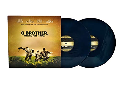 O Brother, Where Art Thou? Soundtrack (Limited Edition Blue Colored Double LP)