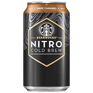 Starbucks Nitro Cold Brew, Dark Caramel, 9.6 Fl oz Can (8 Pack)