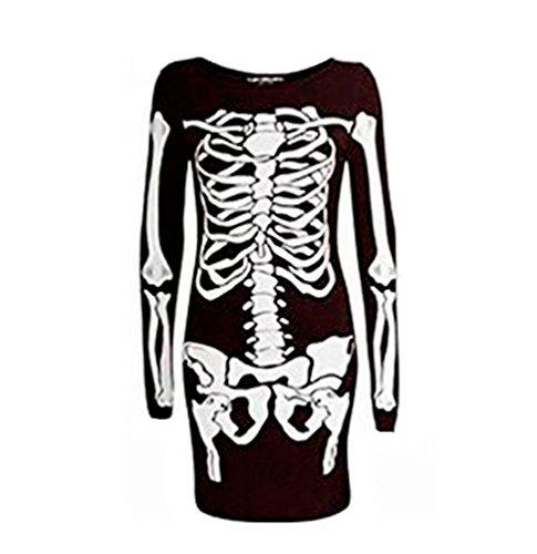 Dress Jealous Canotta Be Skeleton Donna w0zTCIxq