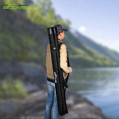 Booms Fishing PB2 Rod Bag Portable Folding Pole Storage Case