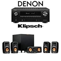Klipsch Reference Theater Pack Details Reference Theater Pack - 5.1 Surround Sound System Flexible System Placement Wireless High Fidelity Subwoofer Cinematic Acoustics Spun Copper IMG Woofers Linear Travel Suspension Horn-Loaded Tweeters
