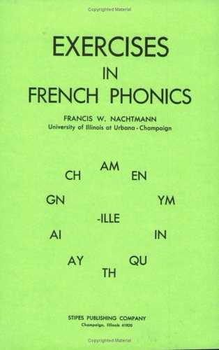 Exercises in French Phonics