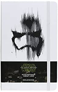 Moleskine Star Wars Episode VII Stormtrooper Limited Edition Notebook, Large, Ruled, White, Hard Cover (5 X 8.25)
