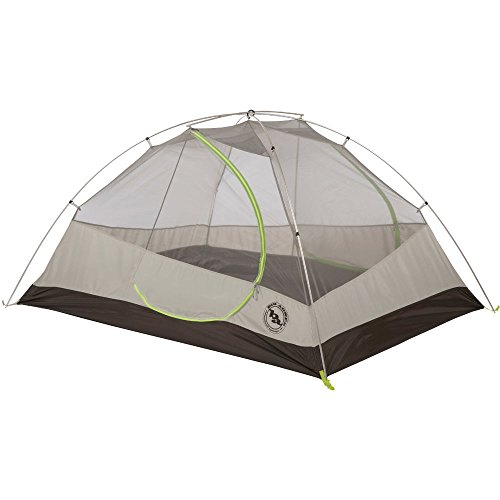 Big Agnes Blacktail 3 Package: Includes Tent and Footprint, Gray/Green, 3 - Big Loft Agnes Gear