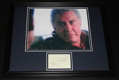 Cliff Robertson Signed Framed 11x14 Photo Poster Display Spider-Man Uncle Ben