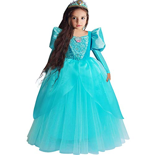Little Mermaid Ariel Princess Dress Cinderella