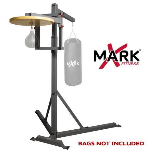 XMark Commercial Heavy Bag Stand with Speed Bag Platform XM-2848 by XMark Fitness (Image #2)