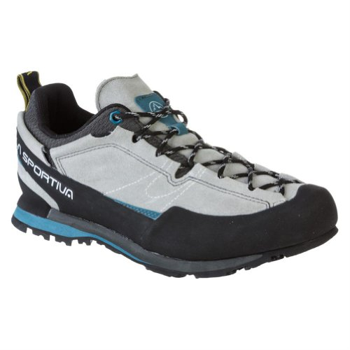 La Sportiva Boulder X Approach Shoe - Men's Light Grey 41.5 by La Sportiva