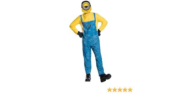 Despicable Me - Disfraz de Minion Mel para adulto, Talla única ...