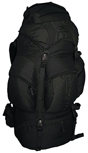 Highlander Mens New Forces 66 Military Waterproof 66L Bergen Rucksack negro