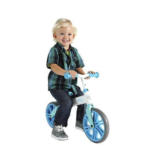 Yvolution Y Velo Junior | No-Pedal Balance Bike for Kids (Blue) BB2BL