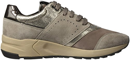 Geox Women's D Phyteam A Trainers Beige (Taupe/Chestnut) C7nH8tOzn