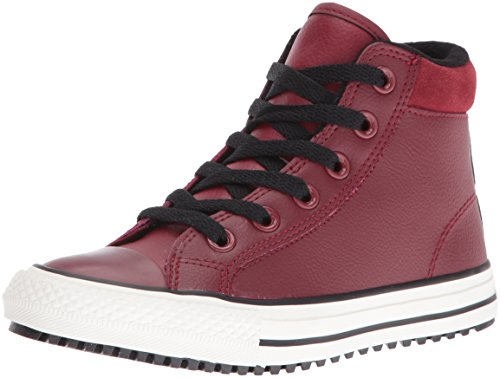 CONVERSE WHITE ALLA LEATHER Rosso STAR HI rRrq4T