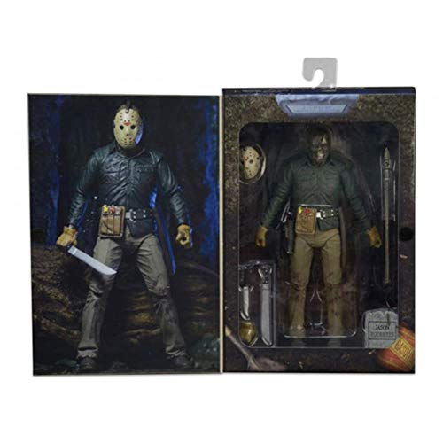 PLAYER-C Original Friday The 13Th Part 6 Vi Jason Lives Voorhees Ultimate Action Figure Toy -