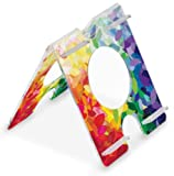 TrippNT 51272 Four Position, Audio Enhancing, Extreme Rainbow Falling Leaf Pattern Acrylic Universal iPad Air, Samsung Galaxy Note 10.1 and Amazon Kindle Fire HDX 8.9 Stand, 7″ Width x 8″ Height x 8″ Depth Reviews