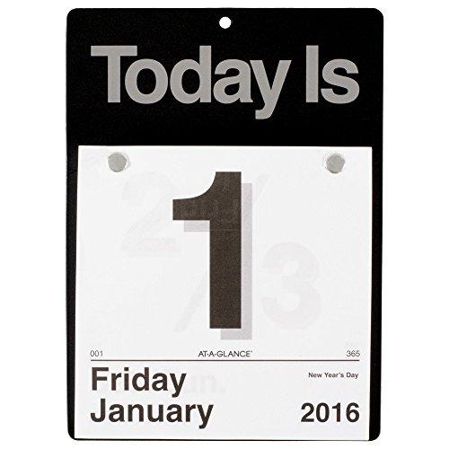 (AT-A-GLANCE Daily Wall Calendar 2016,